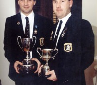 D.J. Wilson and Clifford Dennison 1999 PG Pairs Winners