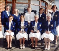 Ladies 199 Junior League Cup and Hazel Getty Cup