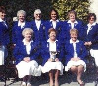 Ladies Junior League Hazel Getty Cup 2001